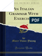 An Italian Grammar With Exercises 1000023084