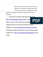 Sample California Durable Power of Attorney for Financial Affairs