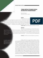 Voirol - 1930 - Teoria CríTiCa e Pesquisa soCial da dialéTiCa à reConsTrução.pdf