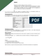 Resumen u11 - Ultrasonido y Ecografia