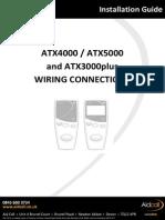 ATX4000 ATX5000 ATX3000plus Wiring Connections