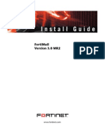FortiMail Install Guide v 3