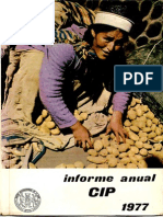 CIP Informe Anual 1977