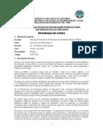 Programa Laboratorio Del Idioma Maya 1. EFPEM 2015 ALFREDO