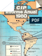 CIP Informe Anual 1980