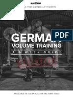 German Volume Training