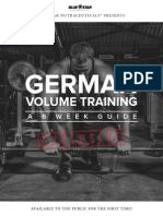 German Volume Training
