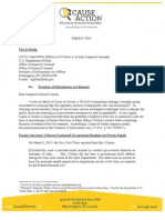 FOIA Request to Dept. of State OIG