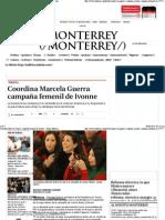 09-03-15 Coordina Marcela Guerra campaña femenil de Ivonne