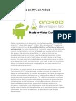 03_La Importancia Del MVC en Android
