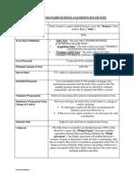 term sheet for ongrid seller note