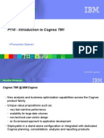 Introduction to Cognos TM1