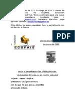 Atisbos Analíticos 223 Reflexiones Sobre La Comisión Investigdor de Los Orígenes Del Conflicto Interno Armado.