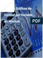 Manual de Gráfico de Control por Variable Minitab