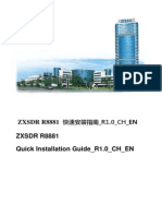 ZXSDR R8881 Quick Installation Guide