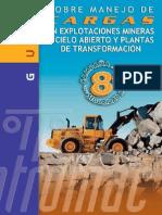 Guía Sobre Manejo de Cargas en Explotaciones Mineras a Cielo Abierto y Plantas de Transformación