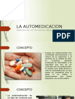 La Automedicacion