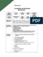 Planes General Analisis i