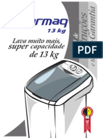 Manual Lavadora Colormaq Automática LCM 11--13 Kg