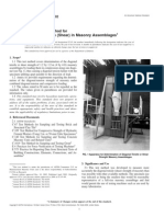 E 519 - 02 Standard Test Method for Diagonal Tension (Shear) in Masonry Assemblages