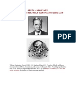 Skull and Bones Prescott Bush Stole Geronimos Remains