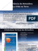 A Importância da Atmosfera