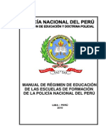 Manual Regimen Educacion