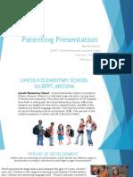 parenting presentation ece497