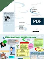 Brosur Hari Pangan 2014 New