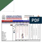 Cronograma IAFCJ SE2