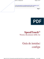 Speed Touch 585