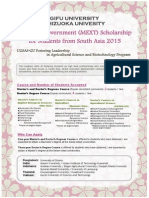 MEXT Scholarship for students from South Asia 2015.pdf
