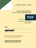 ISU Codification Research Report - Sritharan Et Al 2007