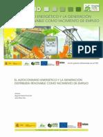 1901940-Estudio El Autoconsumo Energetico y La Generacion Distribuida Renovable Como Yacimiento de Empleo