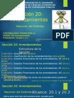 3-Sec 20 Arrendamientos Resumen 20140930