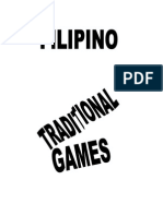 TRADITIONAL FILIPINO GAMES