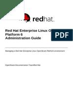 Red Hat Enterprise Linux OpenStack Platform 6 Administration Guide