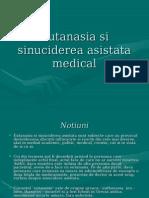 Eutanasia Si Sinuciderea Asistata Medical