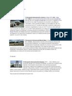 Aeropuertos centroamerica