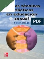 Nuevas técnicas didácticas en educación sexual