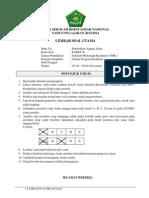 Soal Usbn Pai Smk 2014 Paket B