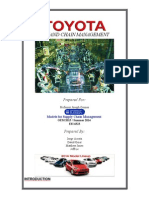 Toyota Case Study Write Up