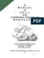 Morgans Manual of Arms