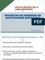 Proyectos de Inversionen Educacion24mar12-120327210808-Phpapp01