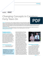 Changing Concepts in Cariology- Forty Years On