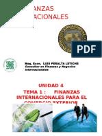 FINANZAS INTERNAC UNID 4 TEMA 1 Finanzas Internacionales Para El Comercio Exterior PERALTA