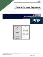 Patent Concept Document Wireless Mando Brake System