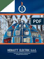 Catalogo Menautt Electric Mesac
