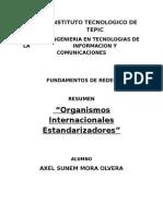 Organismos Internacionales Estandarizadores de Redes