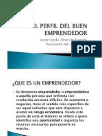 1. Ser Emprendedor, Caracteristicas